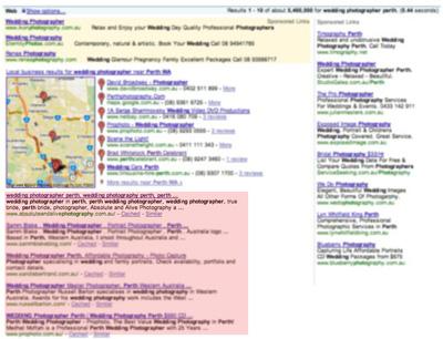 SEO Consultant Perth, Perth SEO, organic google seo results