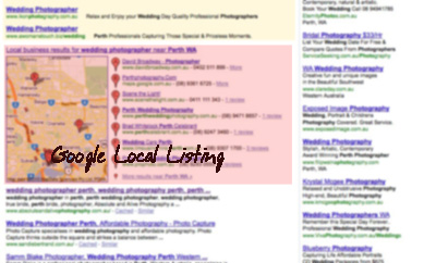 SEO Perth, SEO Perth, Google local listing
