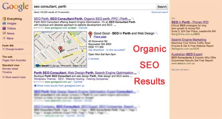Organic SEO Consultant Perth